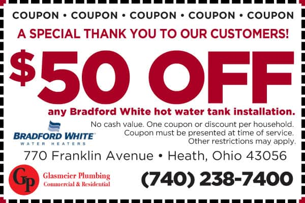 Plumber in Newark, OH & Licking County OH | Glasmeier Plumbing | 100% Satisfaction Guaranteed!